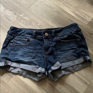 Express Denim Shorts 4